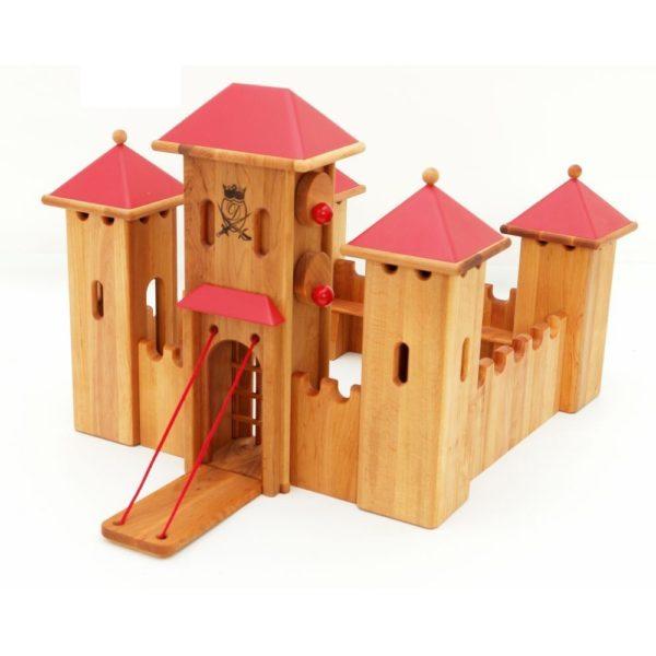 Schloss aus Massivholz - verschiedene Ausführungen
