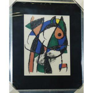 "Gemälde Joan Miró ""Fisch abstrakt"""
