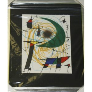 "Gemälde Joan Miró ""Mond abstrakt"""
