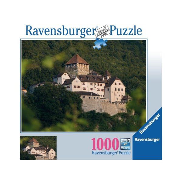 Schloss Vaduz Ravensburger Puzzle