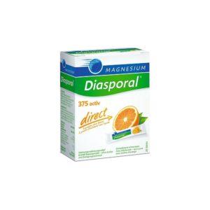 Magnesium Diasporal activ direct mit Orangengeschmack 60 Sticks