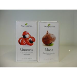 Phytopharma Guarana & Maca - Das Stärkungsmittelduo