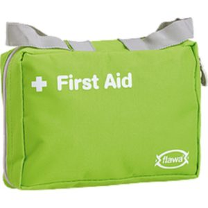 Flawa First Aid Outdoor Apotheke assortiertes Verbandsmaterial 21 x 14 cm
