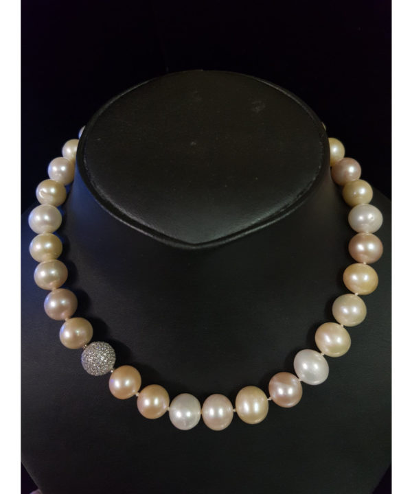 Süsswasser Perlenkette