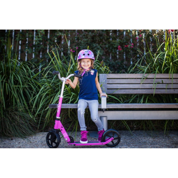 Scooter von Micro und Hudora