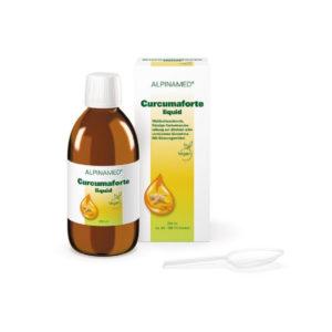 Alpinamed Curcumaforte liquid - vegan, glutenfrei, lactosefrei, zuckerfrei & alkoholfrei