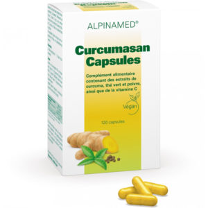 Alpinamed Curcumasan Kapseln - vegan, glutenfrei & lactosefrei