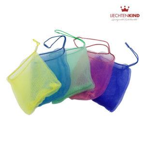 Seifensäckchen mit Massageeffekt