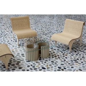 WB Form Shigeru Ban Lounge Chair