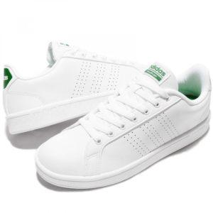 adidas AW3914 CLOUDFOAM ADVANTAGE CLEAN weiß grün