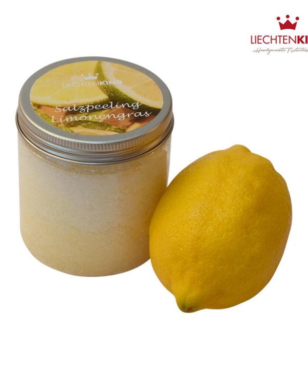 Salzpeeling Limonengras