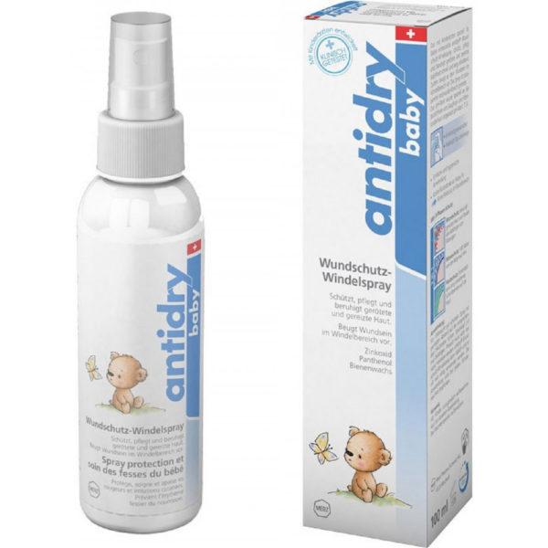 Antidry Baby Wundschutz-Windelspray - praktisch auch für unterwegs