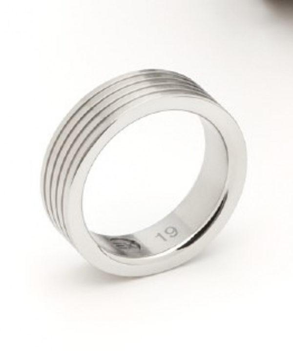 Ring aus Edelstahl von ENERGETIX