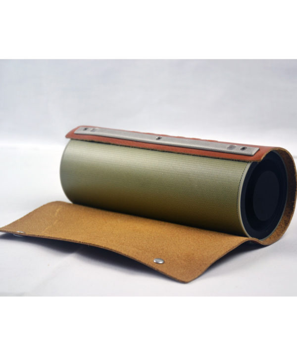 Bluetooth Leder Lautsprecher (Knopf)