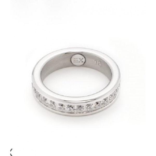 Ring mit Zirkonia-Steinchen von ENERGETIX
