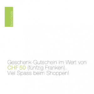 Geschenk-Gutschein CHF 50