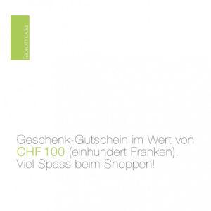 Geschenk-Gutschein CHF 100