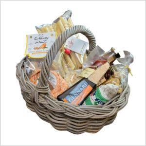Geschenkkorb – Pasta und Käse