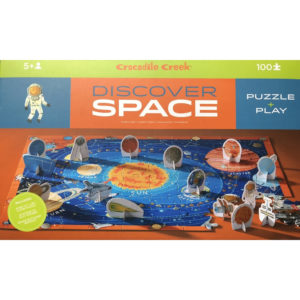 Discover SPACE Puzzle + Play