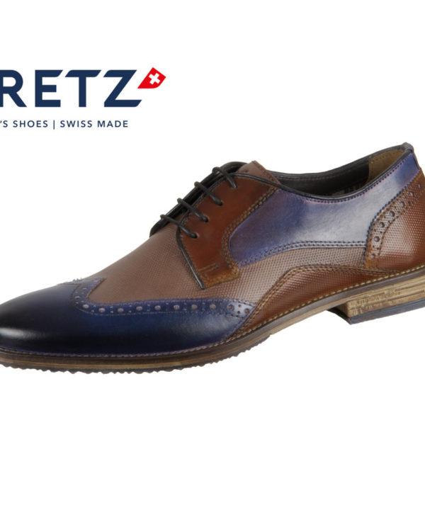 Fretz Men Grenoble 7445.7232-42 navy blue mokka
