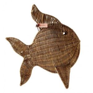 Riviera Maison Rustic Rattan Tropical Fish medium