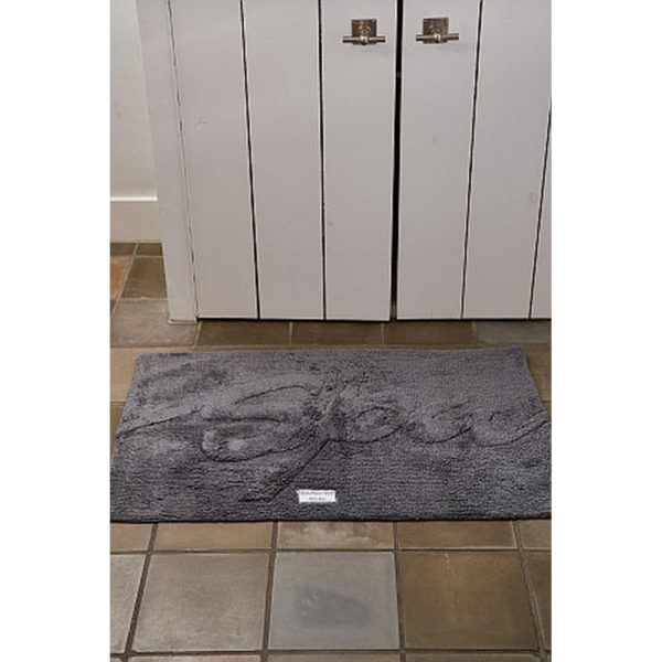 Riviera Maison Bath Mat Spa anthracite