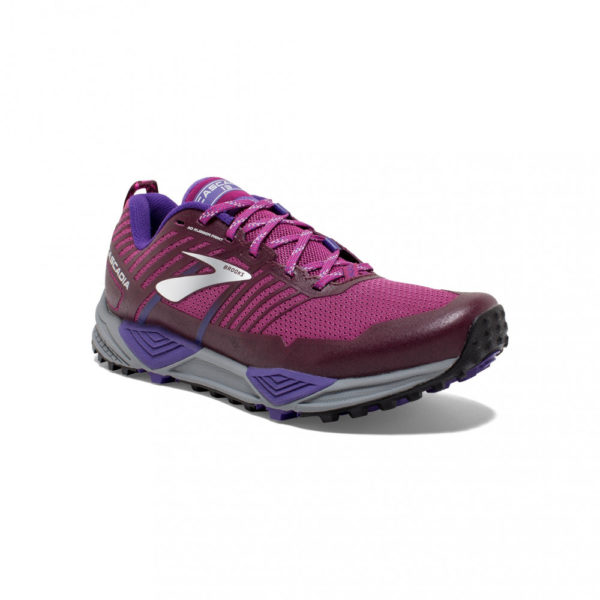 Brooks Cascadia 13 Damen, Aster/Fig/Purple
