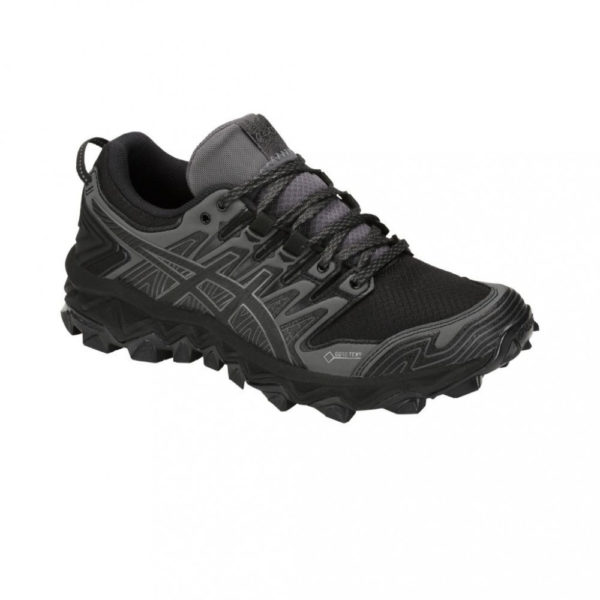Asics GEL-FujiTrabuco 7 G-TX Damen, Black/Dark Grey