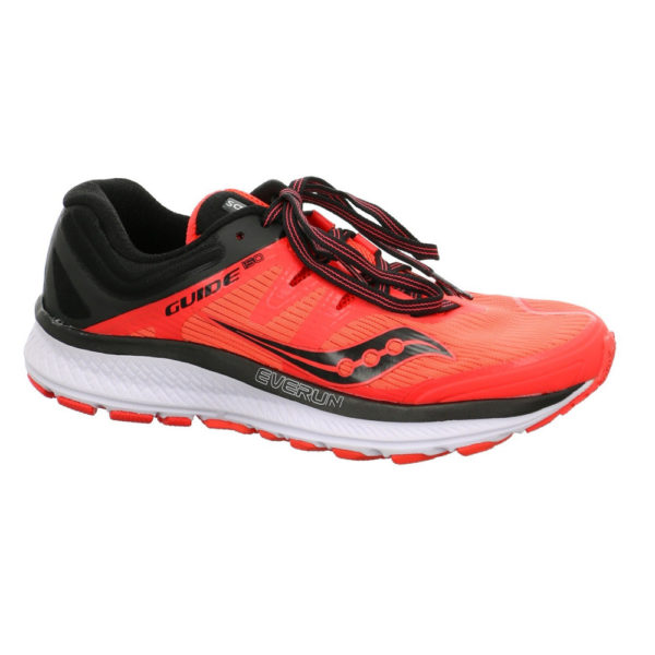 Saucony Guide Iso Damen, Vizi Red/Black