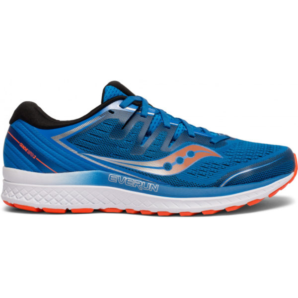 Saucony Guide Iso 2 Herren, Blue/Orange