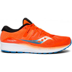 Saucony Ride Iso Herren, Orange/Blue