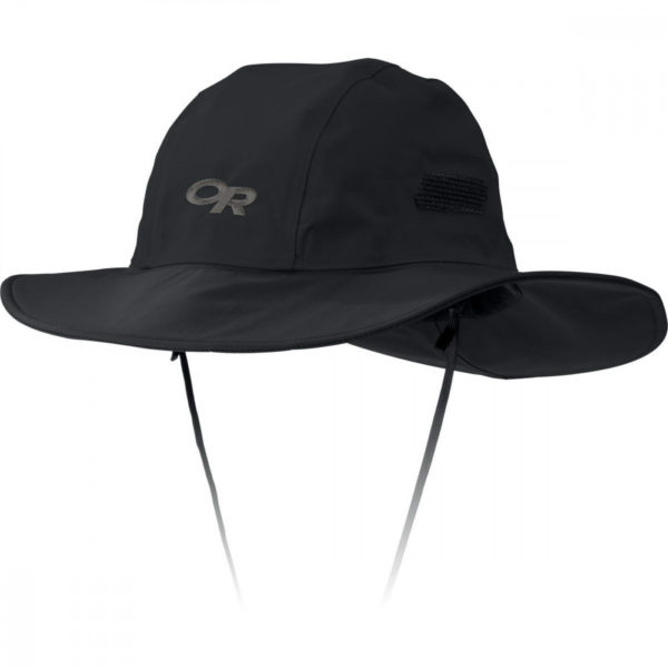 Outdoor Research, Gore-Tex Seattle Sombrero, Black