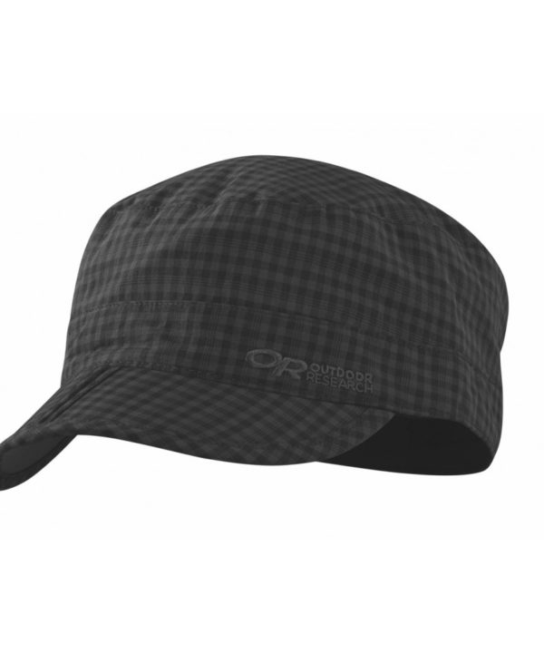 Outdoor Research, Radar Pocket Cap, Black Check