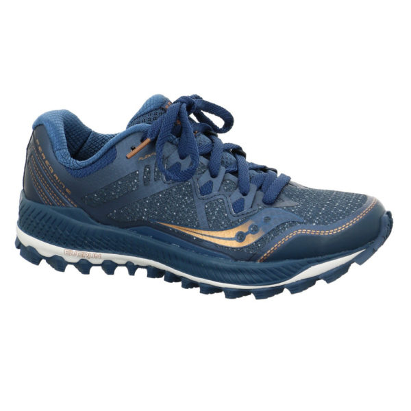 Saucony Peregine 8 Damen, Blue/Denim/Copper