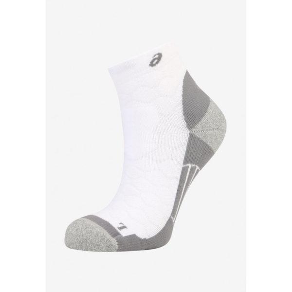 Asics Road Quarter Socks Damen, white