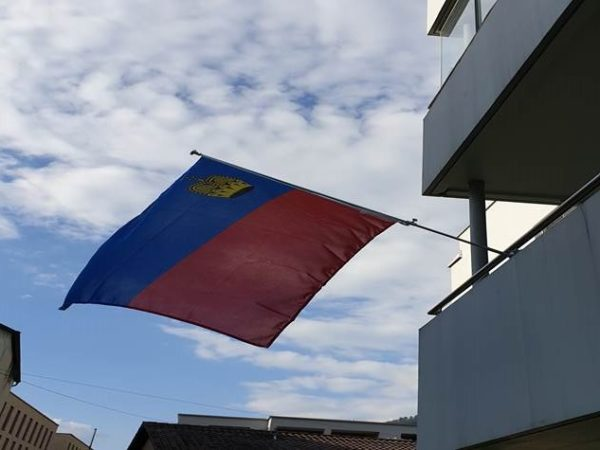 Balkon-Beflaggung - hochwertig