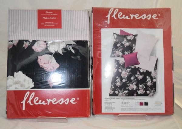 Fleuresse Bettwäsche Loft Puder , 100 % Baumwolle, Grösse 160 x 210 cm und 65 x 100 cm