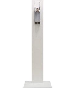 Stylische Hygiene-Station 500ml, weiss lackiert