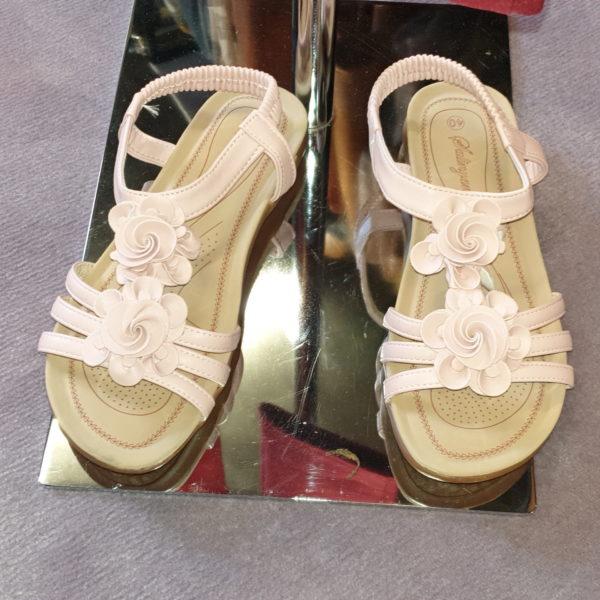 Sandale in altrosa