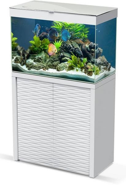 CIANO Aquarium-Kombination Emotions Nature One 100 weiss - LED