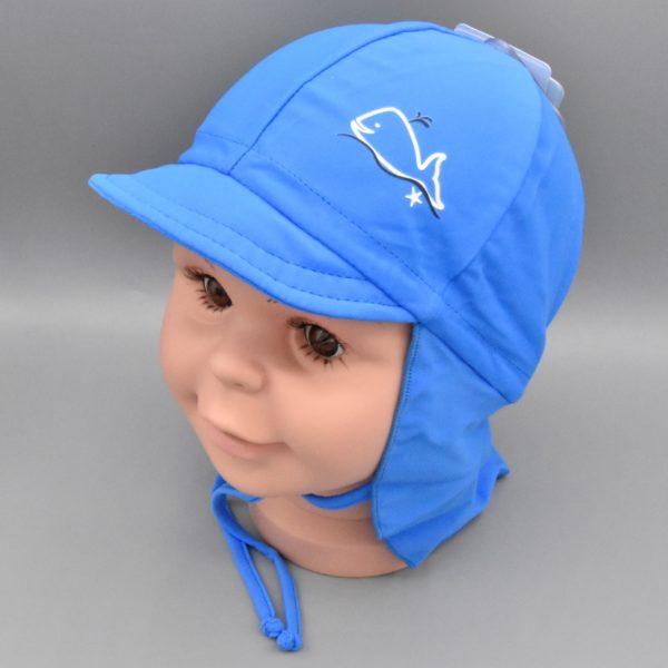 Maximo Kinder Bademütze blau