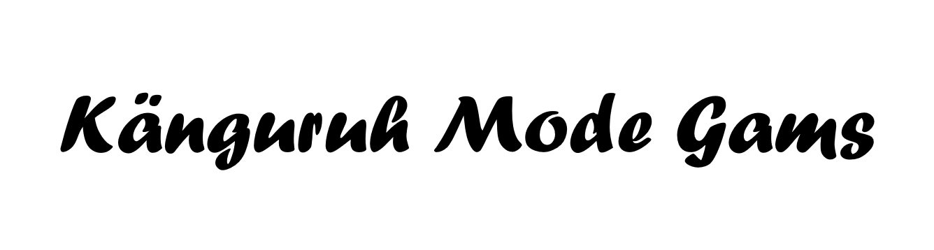 Känguruh-Mode