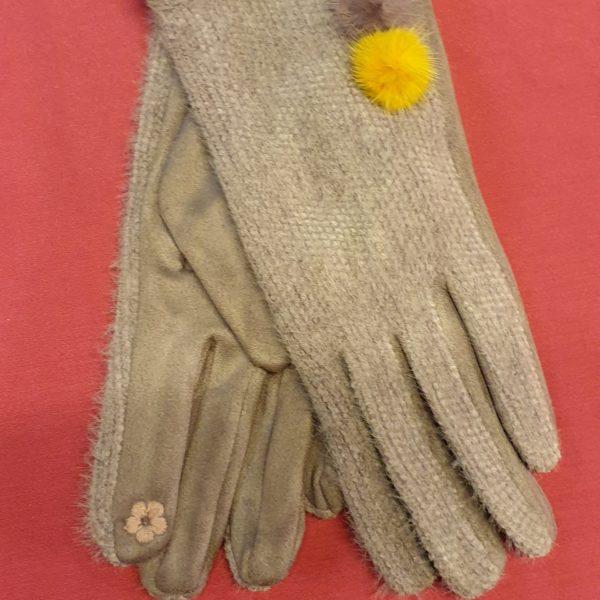 Handschuh mit Smartphone Finger